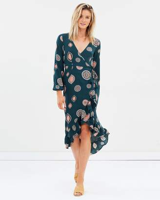 Tigerlily Matisse Wrap Dress