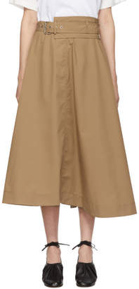 3.1 Phillip Lim Tan High Waisted Skirt