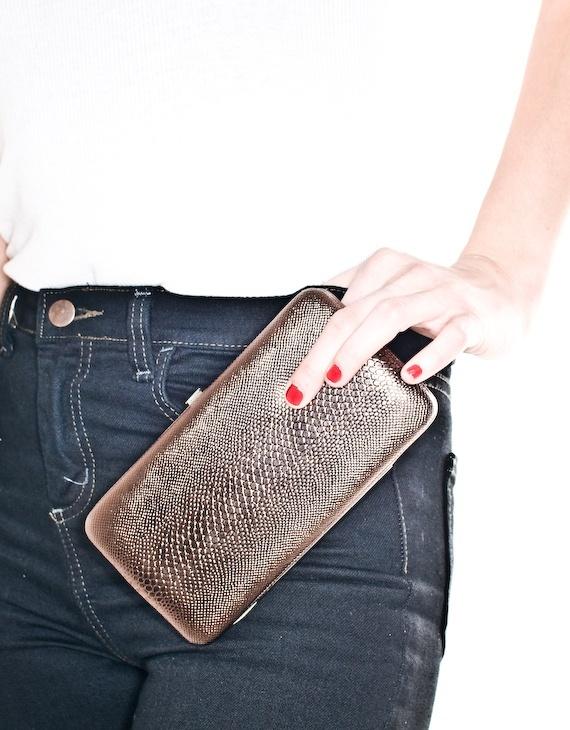 Copper Clutch Wallet