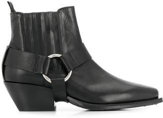 Vic Matié removable strap beatle boots