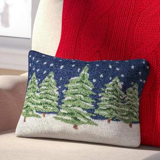 Three Posts Evergreens Winter Pillow Cover