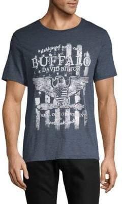Buffalo David Bitton Graphic Logo Tee