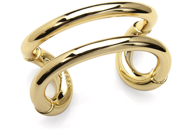 Giles and Brother Gold Cuff