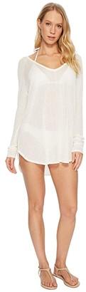 Vitamin A Swimwear Drifter Beach Sweater Cover-Up