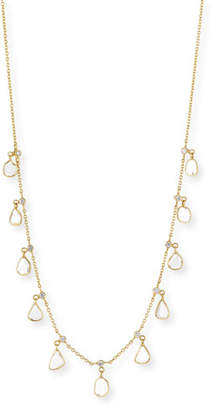 Amrapali Legend 18k Gold Polki Diamond Slice Charm Necklace