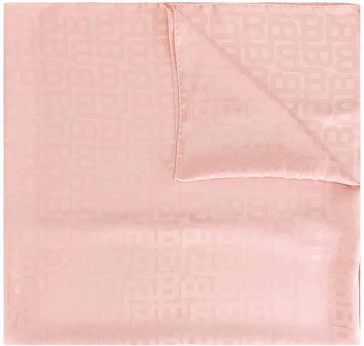 BallyBally tonal print scarf
