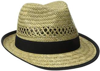 San Diego Hat Company Women's Panama Hat With Grosgrain Trim