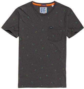 Superdry All Over Print Lite Pocket T-Shirt