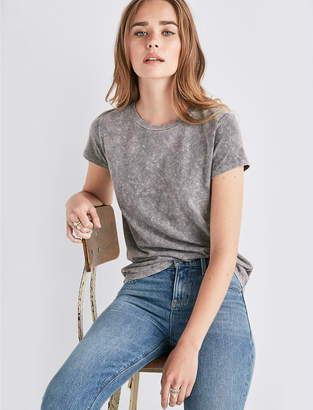Lucky Brand MINERAL WASH TEE