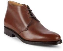 Paul Stuart Pebbled Leather Chukka Boots
