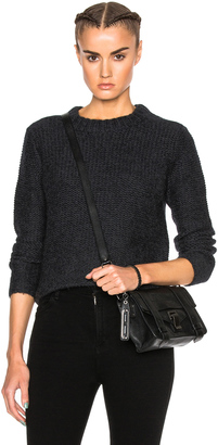 James Perse Cropped Cashmere Crew Sweater $395 thestylecure.com