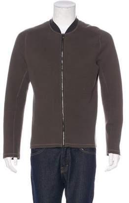 Lanvin Knit Zip Jacket