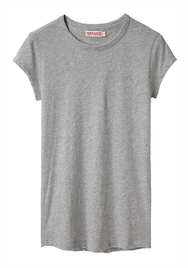 Organic by John Patrick / Jersey Crewneck T-Shirt