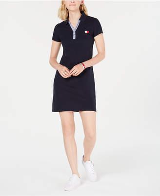 Tommy Hilfiger Short-Sleeve Polo Dress