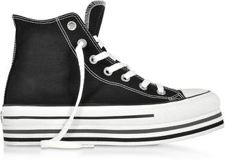 Converse Limited Edition Chuck Taylor All Star Platform Layer Black Sneakers 2ab442bed5428