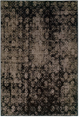 "Oriental Weavers Closeout! Oriental Weavers Area Rug, Revamp REV7216E Grey 5'3"" x 7'6"""