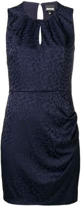 Just Cavalli sleeveless fitted mini dress