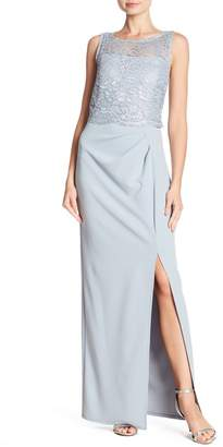 Marina Crochet Lace Gown