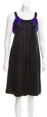 Abaete Sleeveless Silk Dress w/ Tags