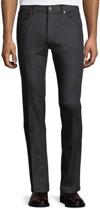 Ermenegildo Zegna Slim-Leg Stretch-Denim Jeans