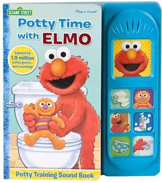 Sesame Street Kohl's Elmo Potty Time Songs Book