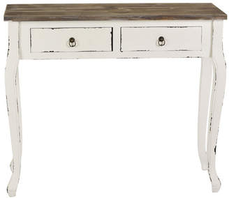 Marnie 2 Drawer Distressed Console Table
