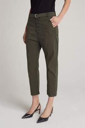 3x1 Vic Button Chino   Olive