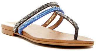 Kenneth Cole Reaction Bavette Embellished Flip Flop $79 thestylecure.com