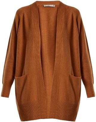 Vince Raglan-sleeved cashmere cardigan