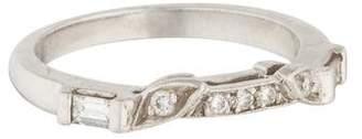Ring Platinum & Diamond Band