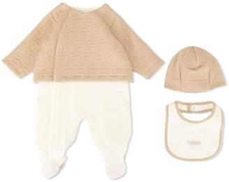Fendi FF embossed pajama set