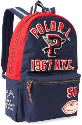 Polo Ralph Lauren P-Wing Canvas Backpack