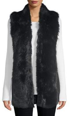 Weatherproof Faux-Fur Vest
