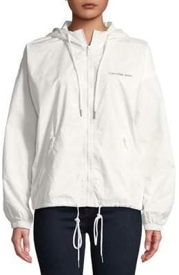 Calvin Klein Jeans Zip Through Hooded Jacket