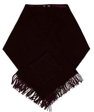 Burberry Merino Wool Nova Check Shawl