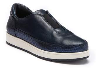 Donald J Pliner Meda Leather Slip-On Sneaker