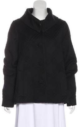 TSE Angora & Wool-Blend Jacket