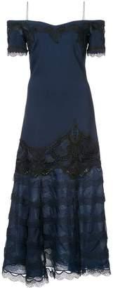 Jonathan Simkhai evening lace insert dress