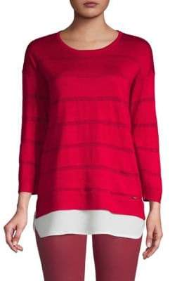 e42416592e3 Calvin Klein Red Women s Sweaters on Sale - ShopStyle
