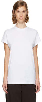 Won Hundred White Proof High Neck T-Shirt