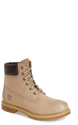 Timberland '6 Inch Premium' Waterproof Boot (Women) $159.95 thestylecure.com