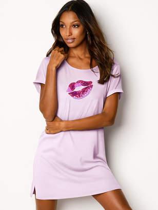 Victoria's Secret Victorias Secret Keyhole-back Sleepshirt