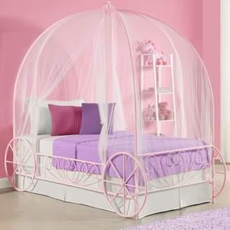 Zoomie Kids Carriage Canopy Bed