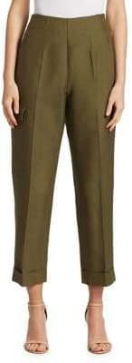 Victoria Beckham Safari Cuffed Trousers