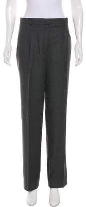 John Galliano High-Rise Straight-Leg Pants