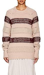Calvin Klein Women's Mélange Wool Oversized Sweater - Pink