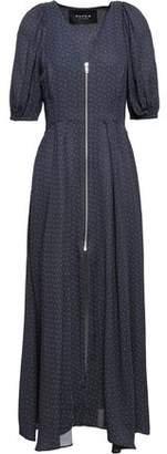 Paper London Polka-dot Crepe Midi Dress