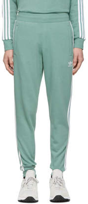 adidas Green 3-Stripes Lounge Pants