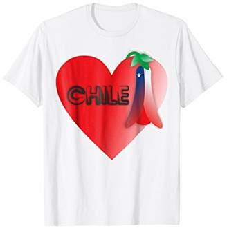 I love Chile T-shirt Tee Tees T Shirt Tshirt