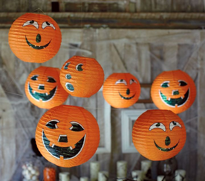 Pumpkin Hanging Lanterns